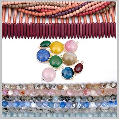 Piedras Semipreciosas y Perlas
