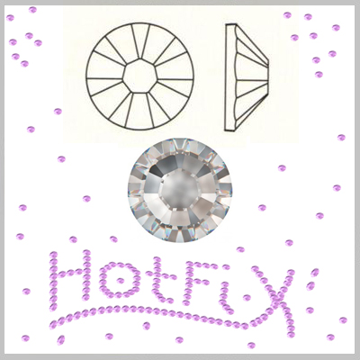 Swarovski Flat Back Hot Fix