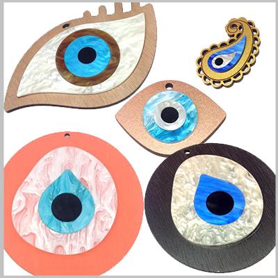 Ξύλινα Με Πλέξι Μάτια